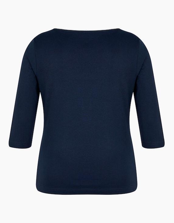 Malva einfarbiges Shirt mit 3/4 Arm   ADLER Mode Onlineshop