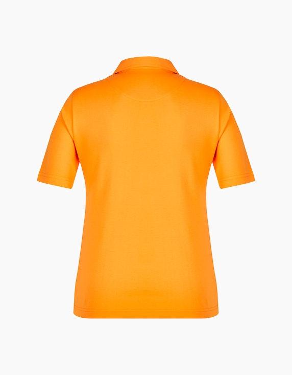 Bexleys woman Basic Poloshirt mit längeren Ärmeln | ADLER Mode Onlineshop
