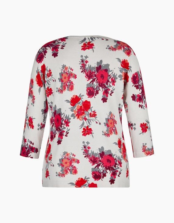 Bexleys woman Pullover mit floralem Druck | ADLER Mode Onlineshop