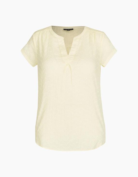 Bexleys woman leichte Baumwoll-Bluse in Schlupfform in Gelb | ADLER Mode Onlineshop