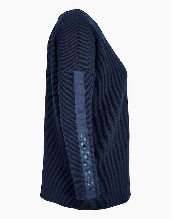 MY OWN Struktur-Sweatshirt mit Reißverschluss   ADLER Mode Onlineshop