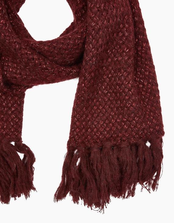 MY OWN Schal mit Fransen und Effektgarn   ADLER Mode Onlineshop