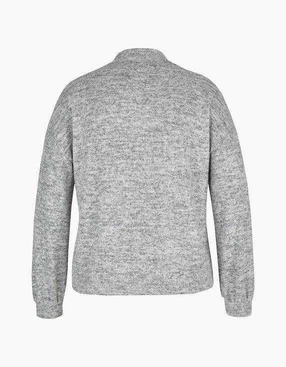 MY OWN Flausch-Shirt mit Ziersteinen   ADLER Mode Onlineshop