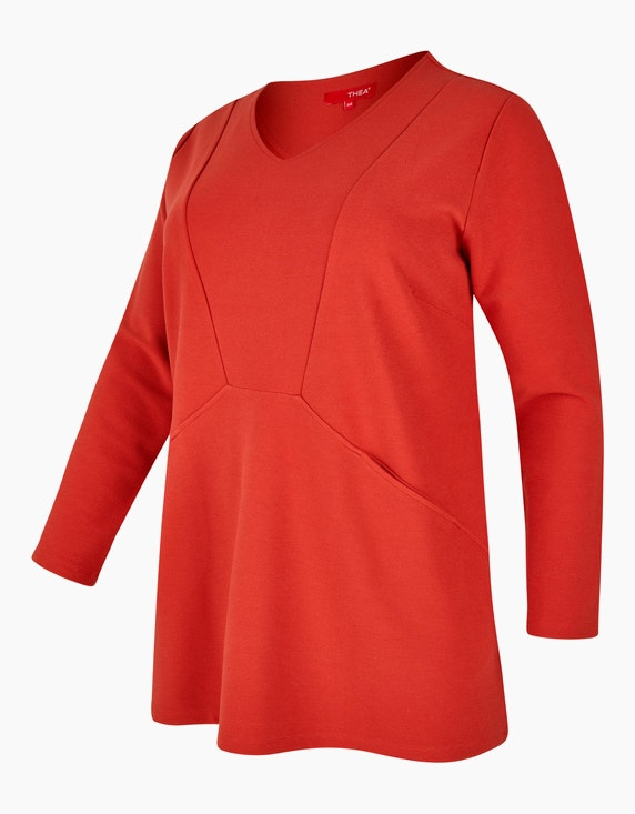 Thea TH 08-20 Shirt       Rot mittel-dunkel 52   ADLER Mode Onlineshop