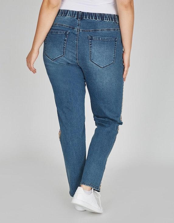 Thea Jeans-Hose mit Galonstreifen   ADLER Mode Onlineshop