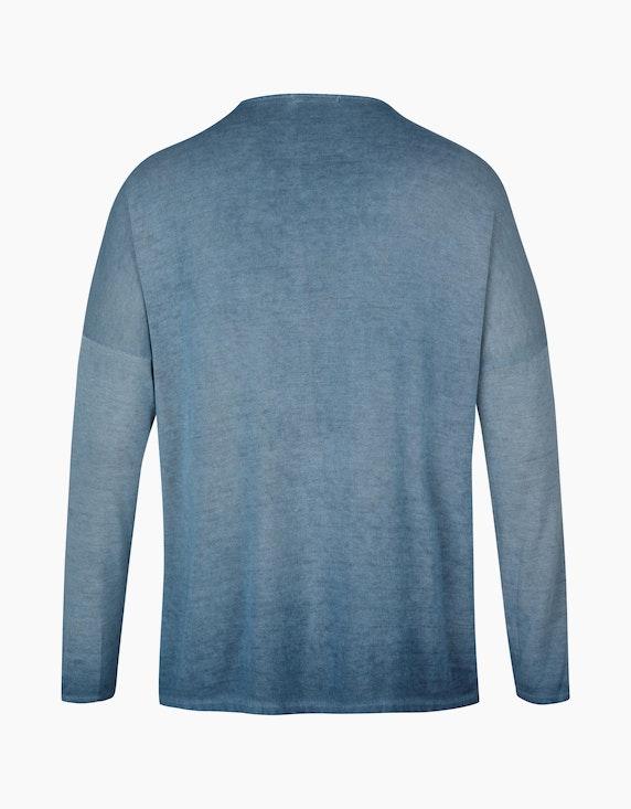 Thea Shirt in Strickoptik mit 3D-Schriftzug   ADLER Mode Onlineshop
