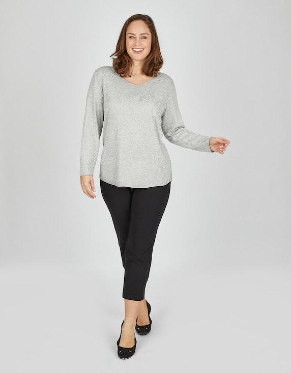 Thea Shirt mit Glitzerdruck   ADLER Mode Onlineshop