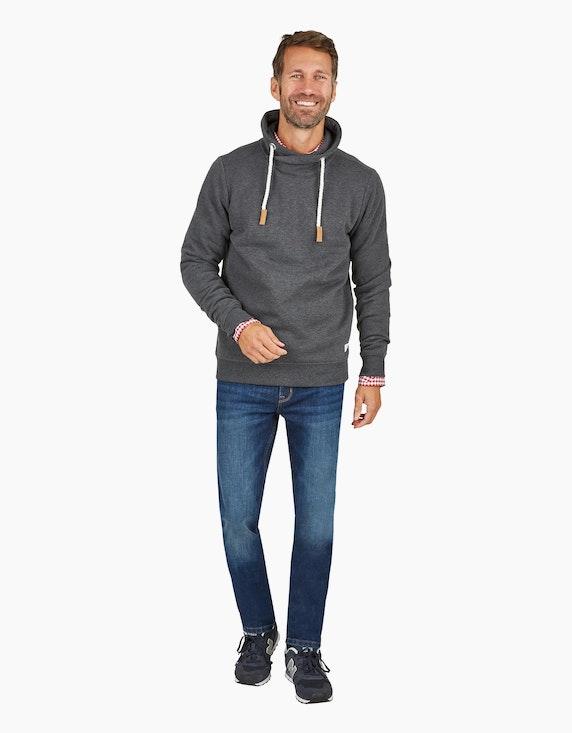 Via Cortesa Jeans im 5-Pocket Style in Blue Denim | ADLER Mode Onlineshop