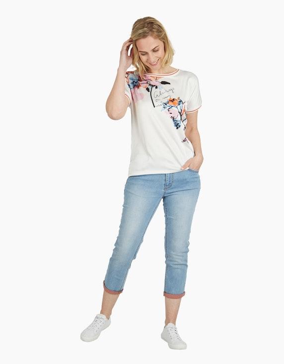 Steilmann Woman Shirt im Material-Mix | ADLER Mode Onlineshop