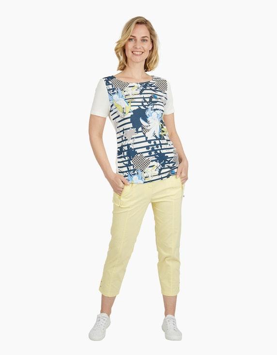 Steilmann Woman Shirt mit Frontdruck | ADLER Mode Onlineshop