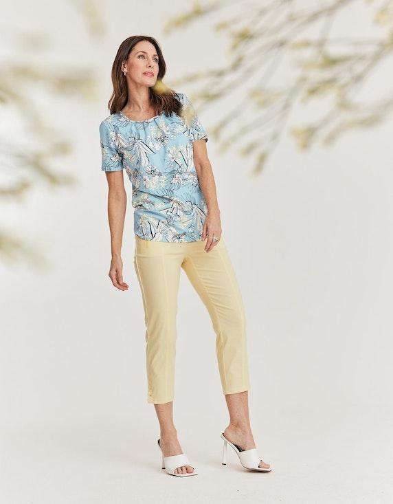 Steilmann Woman Druckshirt mit Zierkette am Ausschnitt | ADLER Mode Onlineshop