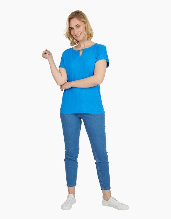 Steilmann Woman Shirt mit Cut-Out-Detail | ADLER Mode Onlineshop