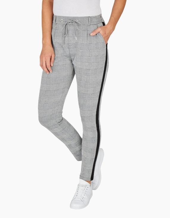 Bexleys woman Joggpants mit Glencheck-Muster   ADLER Mode Onlineshop