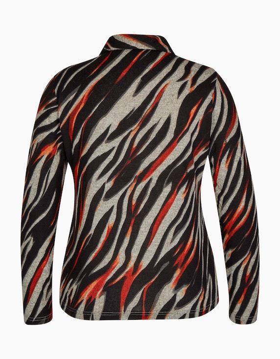 Bexleys woman Flauschbluse mit Zebra-Muster | ADLER Mode Onlineshop