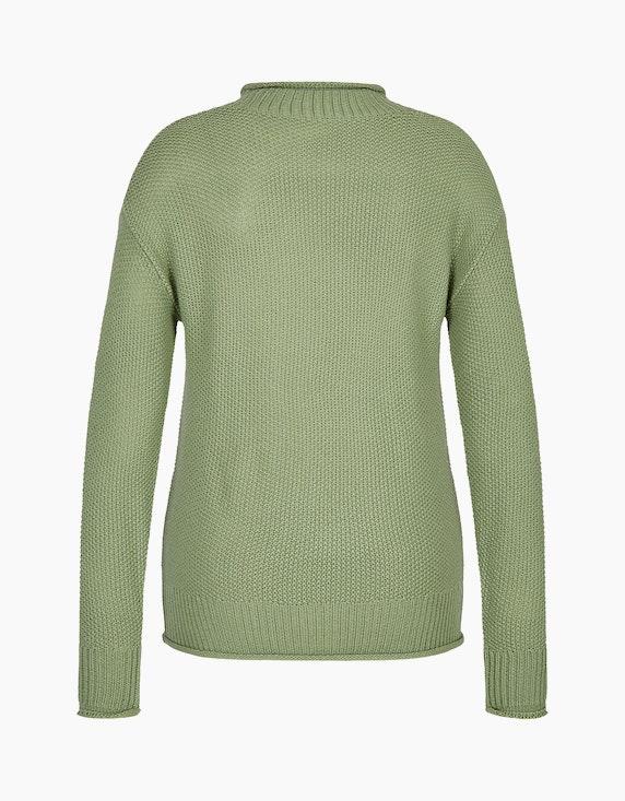 MY OWN Strick-Pullover mit Stehkragen und Rollsaum | ADLER Mode Onlineshop