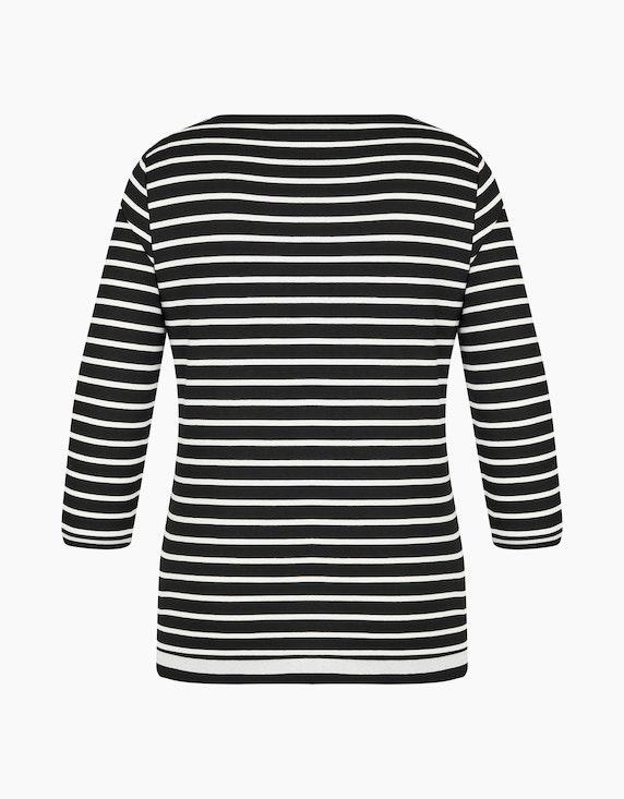 Bexleys woman Gestreiftes Shirt mit 3/4-Arm   ADLER Mode Onlineshop