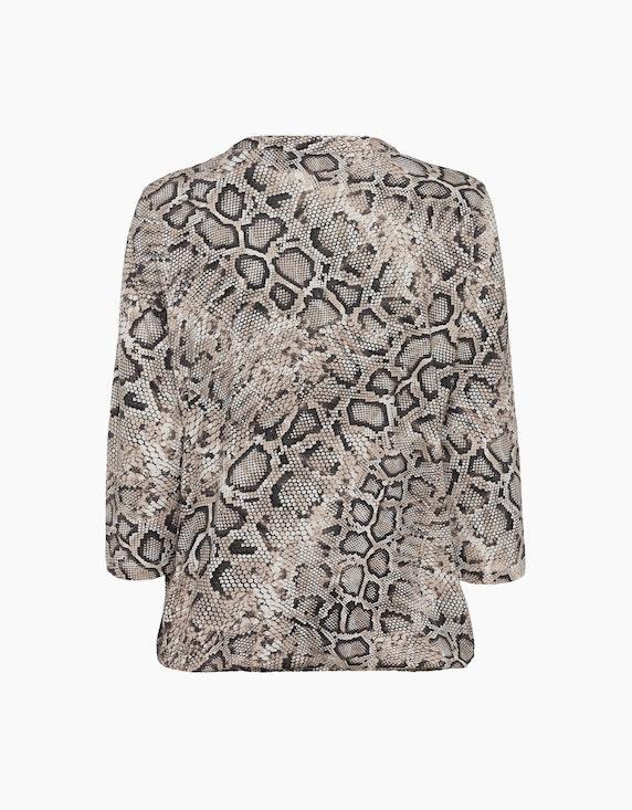 Olsen Shirt mit trendigem Schlangenprint   ADLER Mode Onlineshop