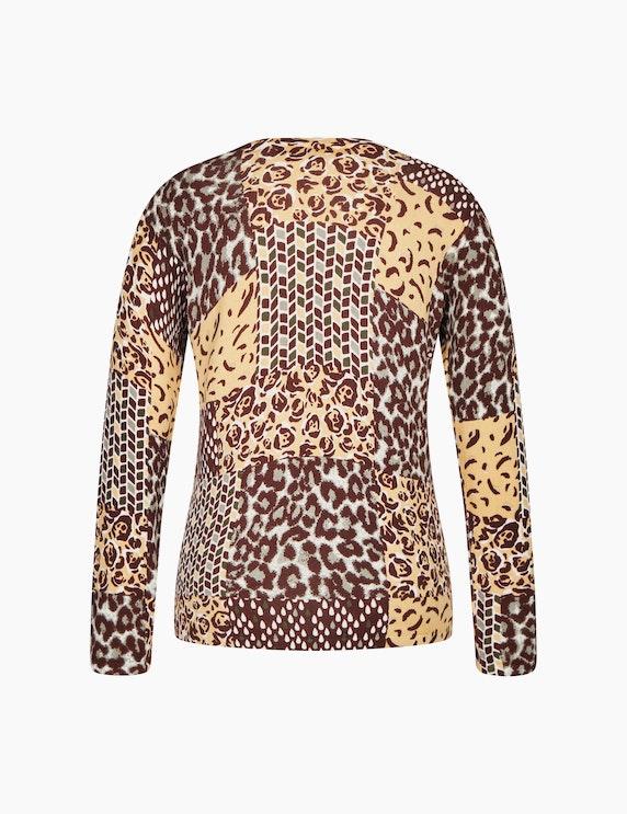 Bexleys woman Pullover mit Alloverprint | ADLER Mode Onlineshop