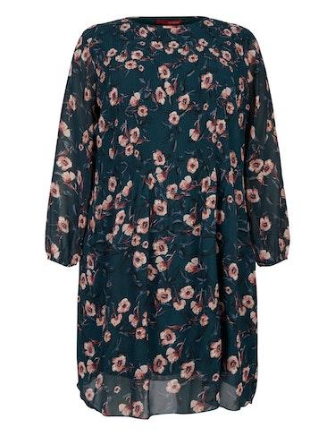 Produktbild zu Pilssee Kleid aus Chiffon mit Blumenmuster von Thea
