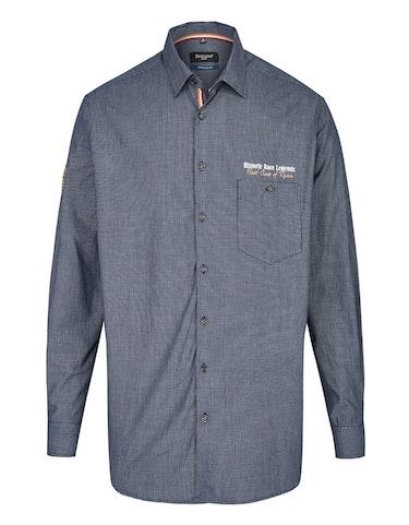 Produktbild zu <strong>Hemd im Freizeitlook mit Kleinkaro</strong>REGULAR FIT von Bexleys man