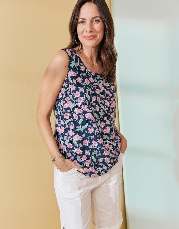 Bexleys woman Papertouch-Bermudas mit Krempelsaum | ADLER Mode Onlineshop