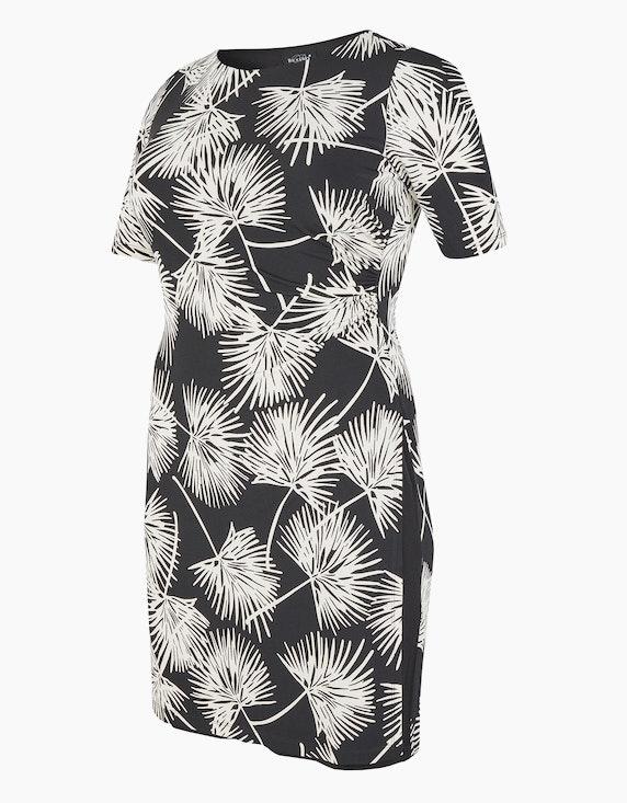 Bexleys woman Jerseykleid mit Druck und Drapierung   ADLER Mode Onlineshop