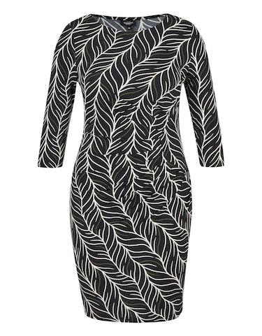 Produktbild zu Jerseykleid mit Druck und Rubber-Print von Bexleys woman