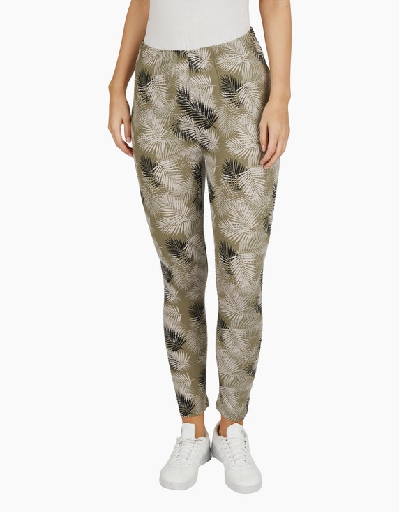 Bexleys woman Jersey Leggings in 7/8-Länge | ADLER Mode Onlineshop