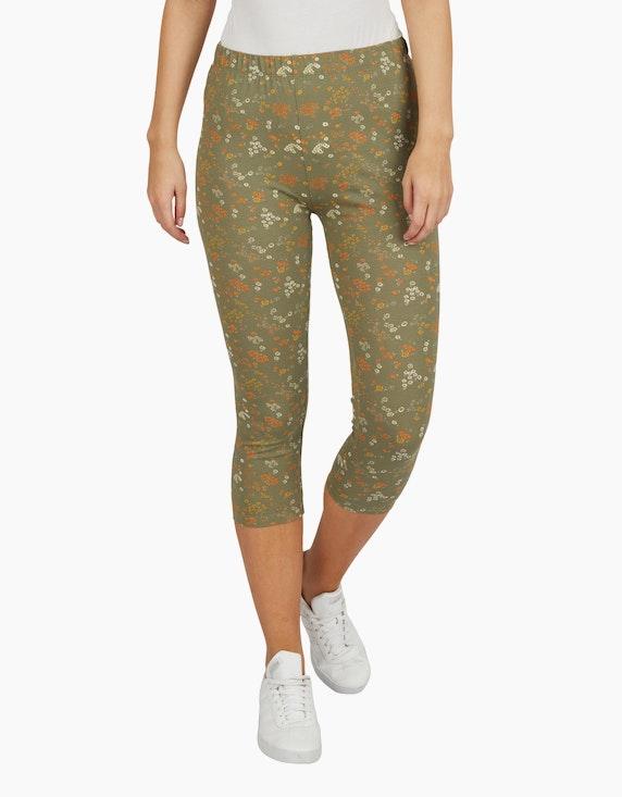 Bexleys woman Jersey Leggings in 3/4-Länge | ADLER Mode Onlineshop