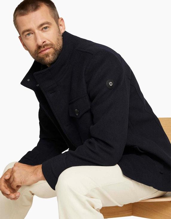Tom Tailor Wolljacke mit weichem Wollanteil   ADLER Mode Onlineshop