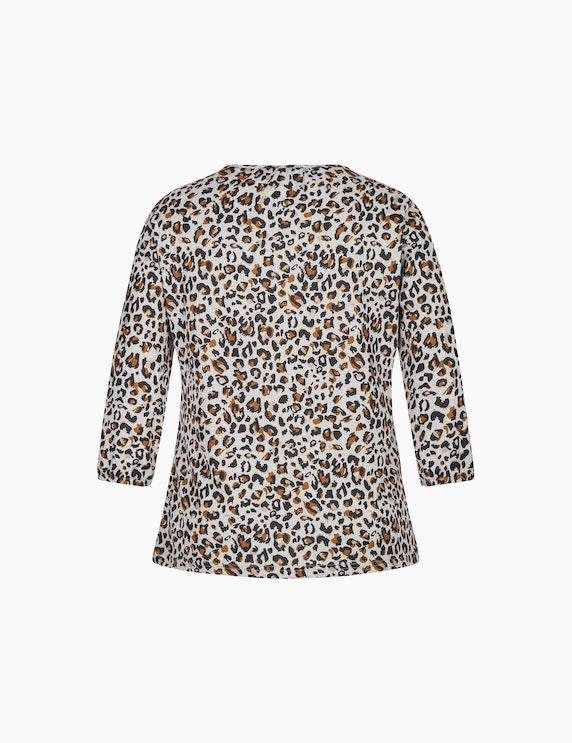 Bexleys woman Flauschiges Shirt mit 3/4-Arm | ADLER Mode Onlineshop