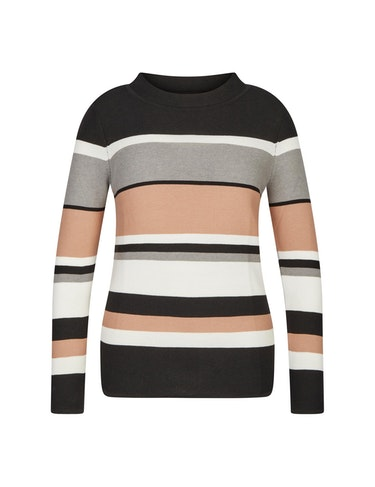 Produktbild zu Pullover mit Streifenmuster von CHOiCE