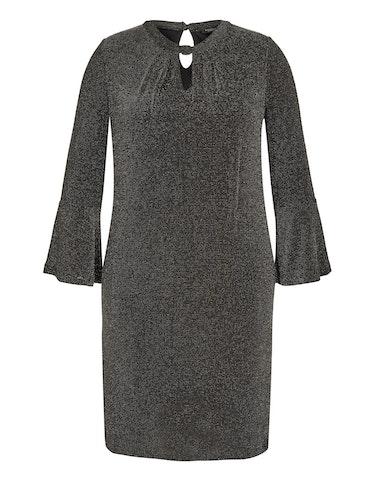 Produktbild zu Kleid im Glitzer-Look von Bexleys woman