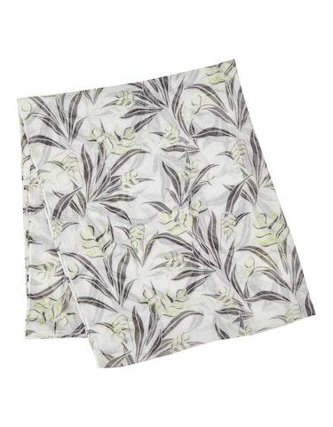 Produktbild zu Loop-Schal mit Blätterdruck von MY OWN