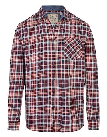 Produktbild zu Flanellhemd mit Karo-Dessin von Eagle Denim