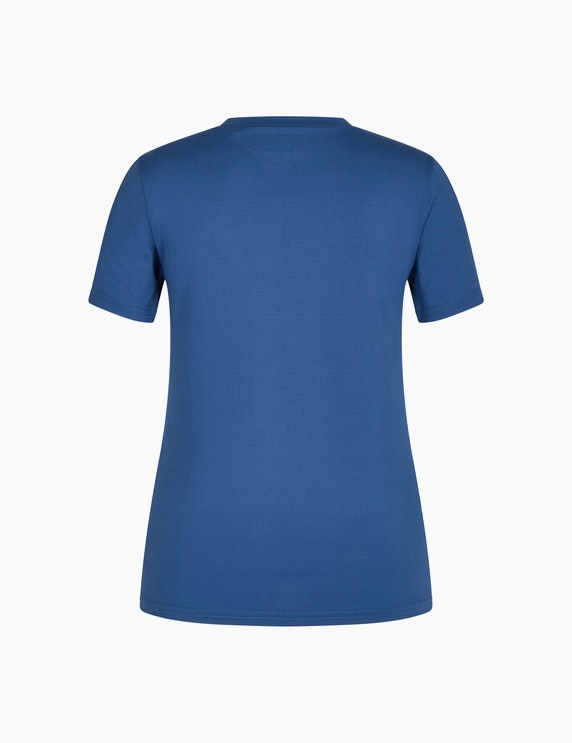 Fit&More Fitness T-Shirt mit Frontprint | ADLER Mode Onlineshop