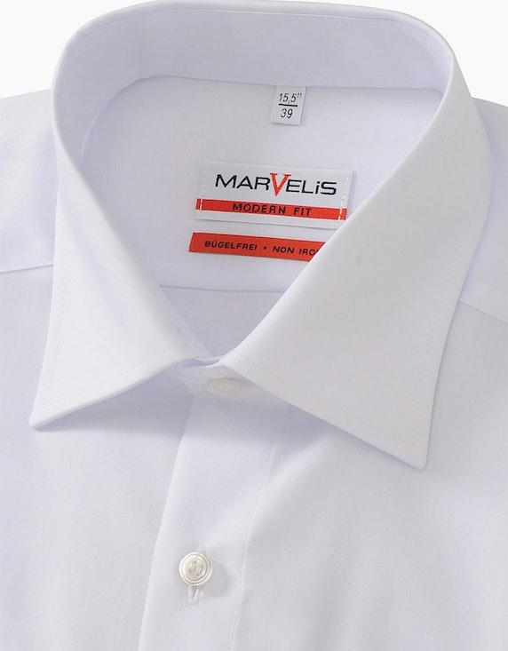 Marvelis Klassisches Dresshemd mit kurzen Ärmeln, MODERN FIT | ADLER Mode Onlineshop