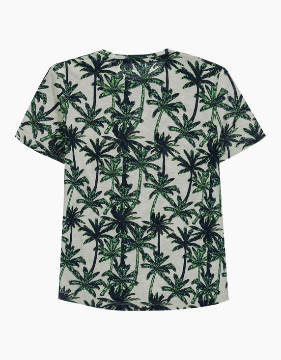 Tom Tailor Boys T-Shirt mit Palmendruck   ADLER Mode Onlineshop