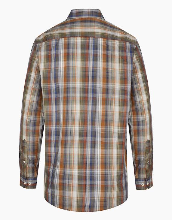 Bexleys man Freizeithemd in farbigem Karo-Dessin, REGULAR FIT | ADLER Mode Onlineshop