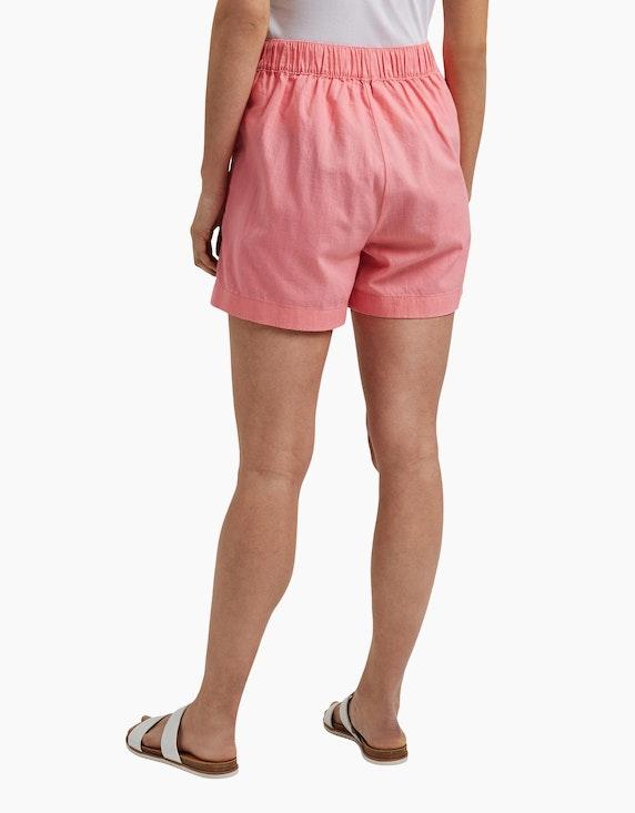 Esprit Shorts mit Bindegürtel im Hanf-Mix   ADLER Mode Onlineshop