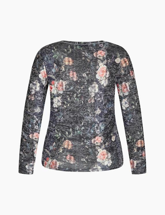 Bexleys woman Langarmshirt in Burnout-Optik   ADLER Mode Onlineshop