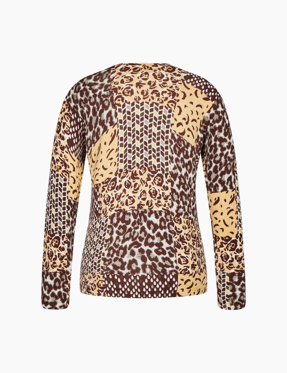 Bexleys woman Pullover mit Alloverprint   ADLER Mode Onlineshop