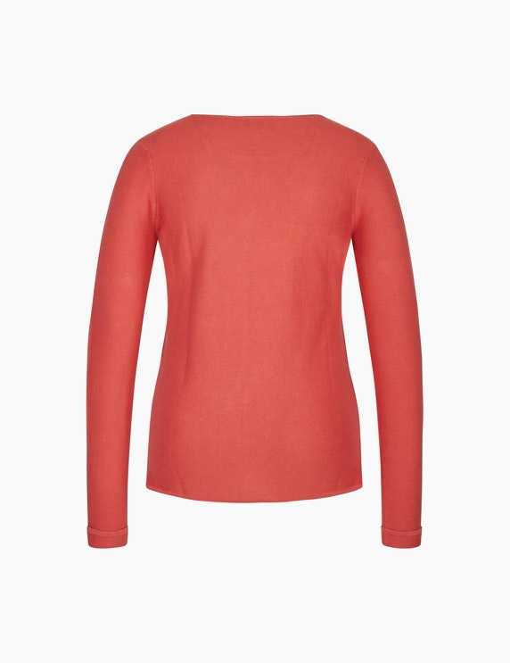 Bexleys woman Einfarbiger Pullover   ADLER Mode Onlineshop