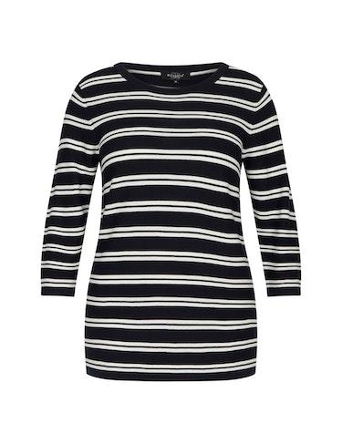 Produktbild zu Streifen-Pullover aus Pima Cotton von Bexleys woman