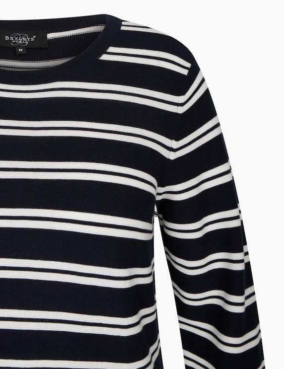 Bexleys woman Streifen-Pullover aus Pima Cotton   ADLER Mode Onlineshop