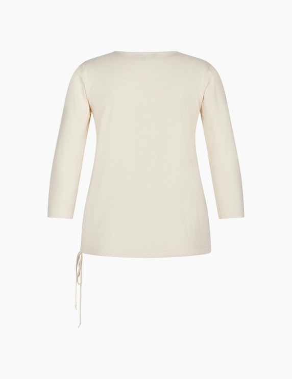 Bexleys woman Pullover mit Schriftzug auf der Front   ADLER Mode Onlineshop