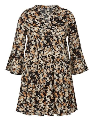 Produktbild zu Long-Bluse im Tunika-Style mit Blumenmuster von MY OWN