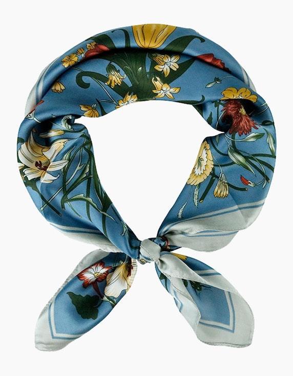 Adler Collection Tuch mit floralem Druck   ADLER Mode Onlineshop
