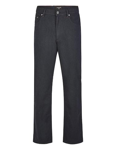Produktbild zu Gemusterte 5-Pocket Hose in Wolloptik von Bexleys man