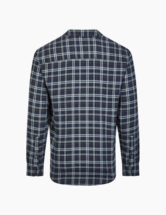 Eagle Denim Flanellhemd mit Karo-Muster | ADLER Mode Onlineshop